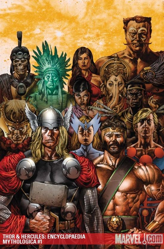 Thor & Hercules: Encyclopaedia Mythologica (2009) #1