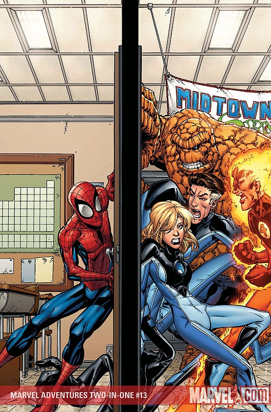 Marvel Adventures Two-in-One (2007) #13