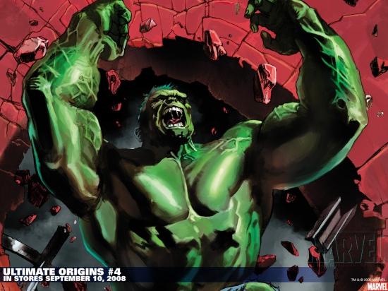 Ultimate Origins (2008) #4 (MALEEV (50/50 COVER)) Wallpaper