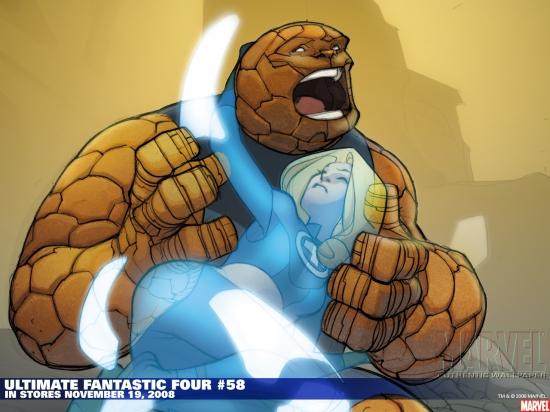 Ultimate Fantastic Four (2003) #58 Wallpaper