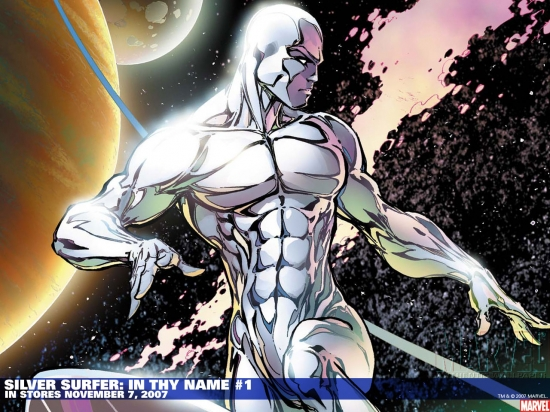 Silver Surfer: In Thy Name (2007) #1 Wallpaper