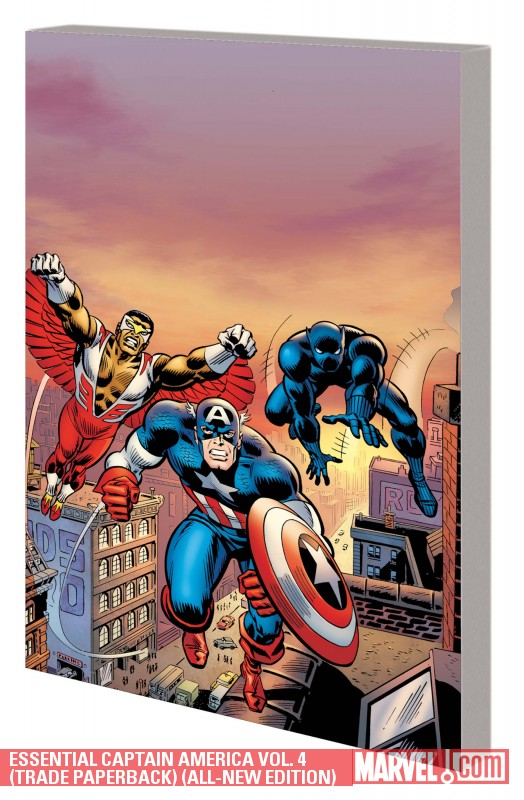 Essential Captain America Vol. 4 (Trade Paperback)