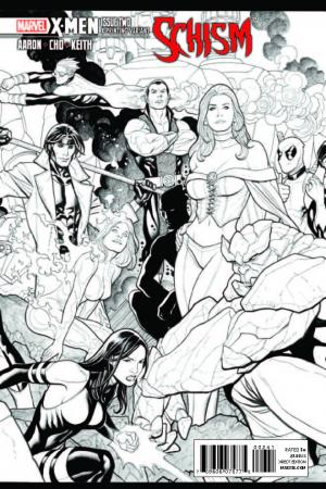 X-Men: Schism (2011) #2 (X Printing Variant)
