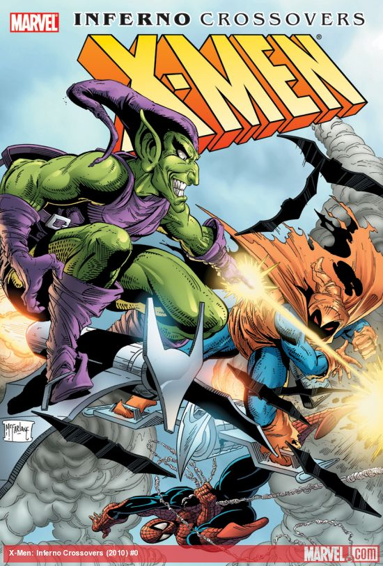 X-Men: Inferno Crossovers (Hardcover)