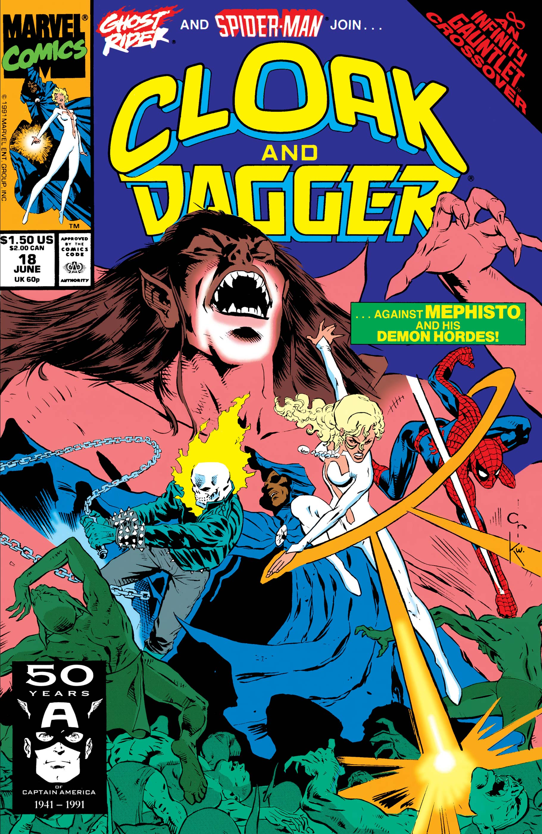 The Mutant Misadventures of Cloak and Dagger (1988) #18