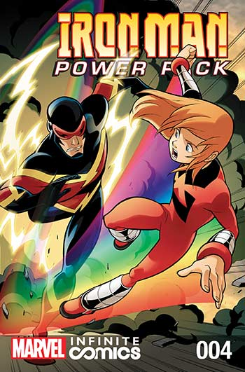 Iron Man and Power Pack (2017) #4