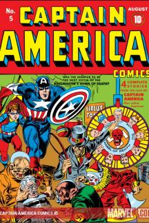 Captain America Comics #5