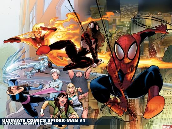 Ultimate Comics Spider-Man (2009) #1 Wallpaper