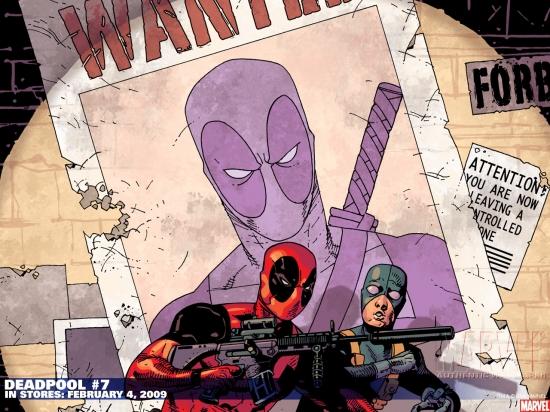 Deadpool (1997) #7 Wallpaper