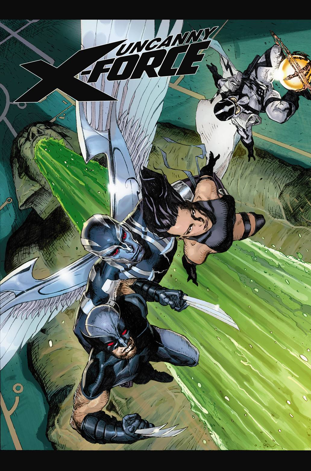 Uncanny X-Force (2010) #1 (2ND PRINTING VARIANT)
