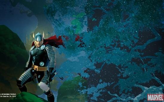 Astonishing Thor #1 cover by Esad Ribic