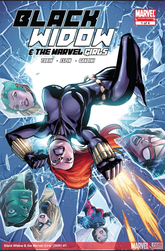 Black Widow & the Marvel Girls (2009) #1