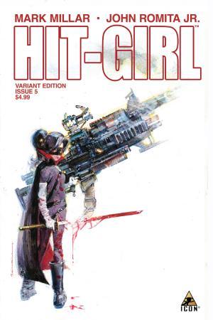 Hit-Girl (2012) #5 ((Sienkeiwicz Variant Edition))