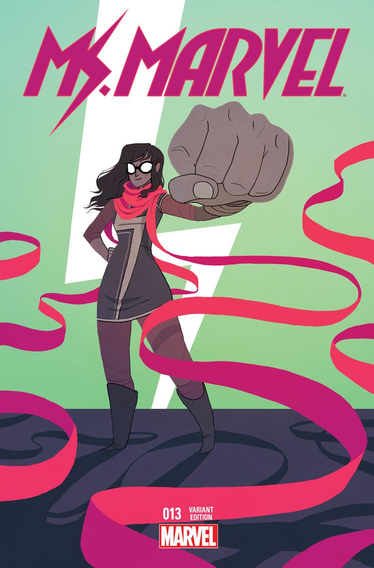 Ms. Marvel (2014) #13 (Stevenson Wom Variant)