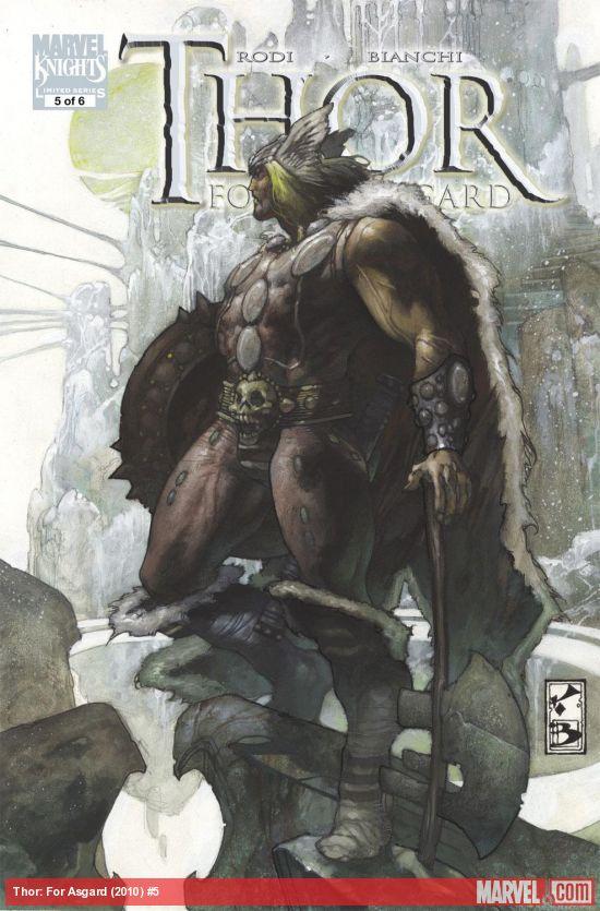 Thor: For Asgard (2010) #5