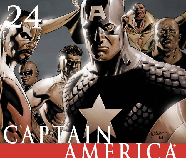 CAPTAIN AMERICA (2004) #24 Cover