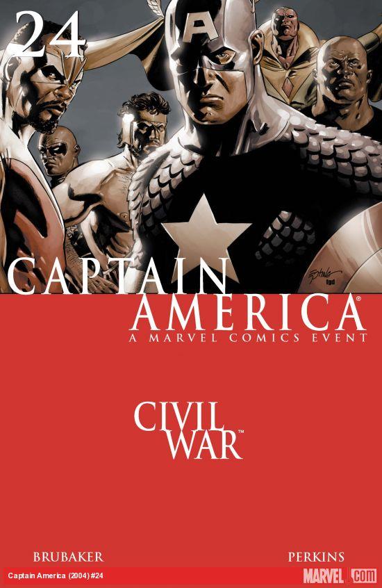 Captain America (2004) #24