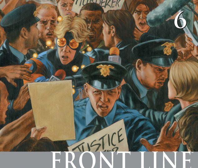 CIVIL WAR: FRONT LINE (2006) #6 Cover