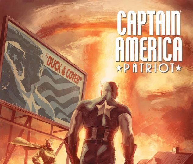 CAPTAIN AMERICA: PATRIOT (2010) #4 Cover