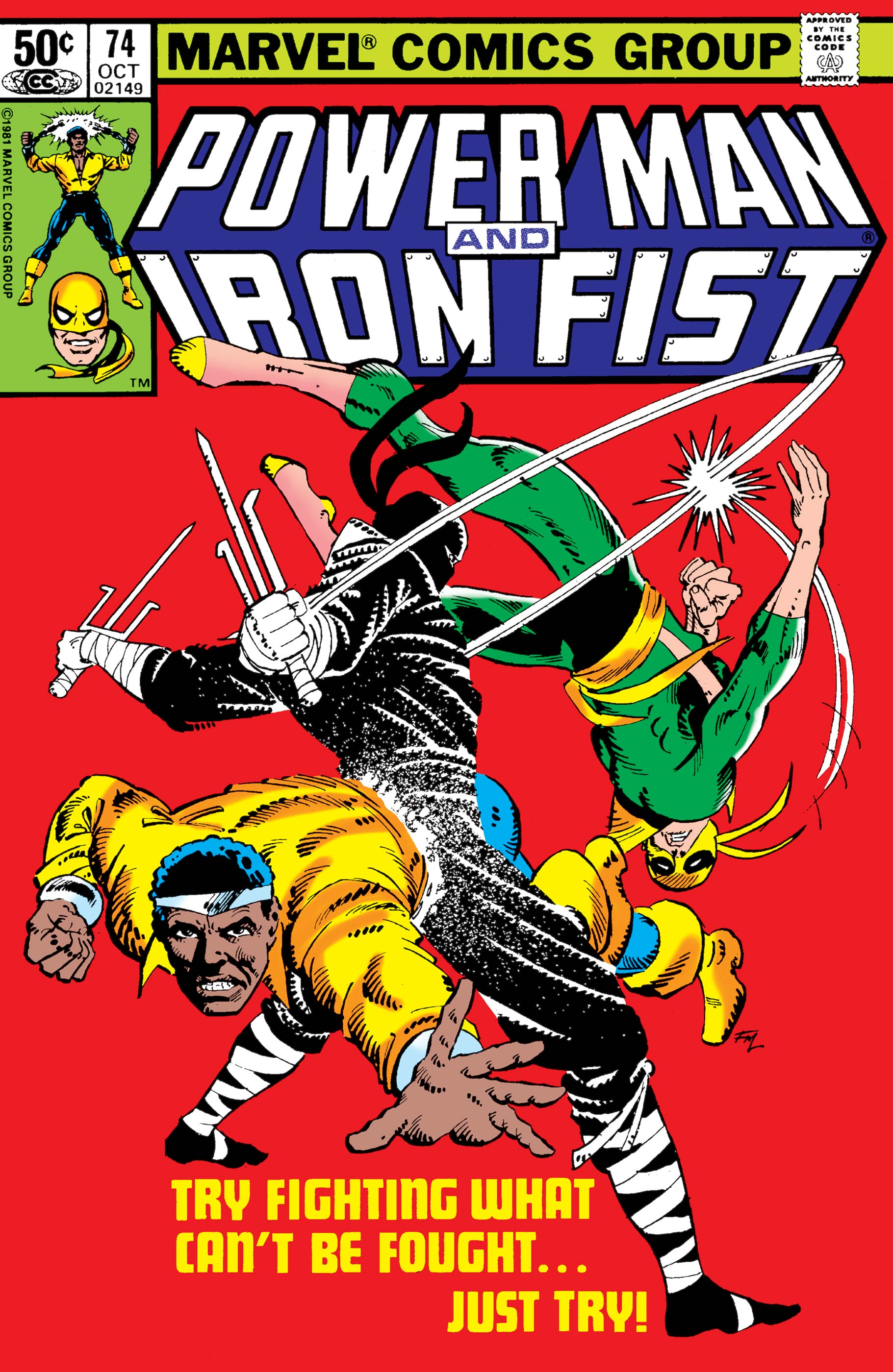 Power Man and Iron Fist (1978) #74