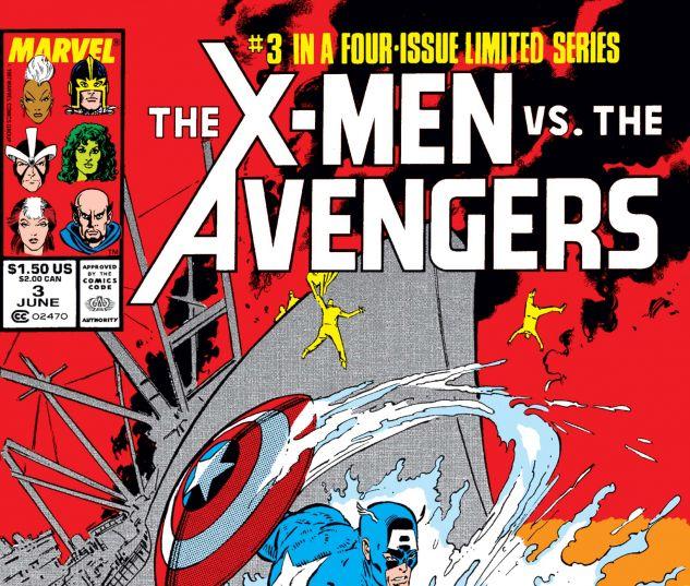 X-Men Vs. Avengers (1987) #3