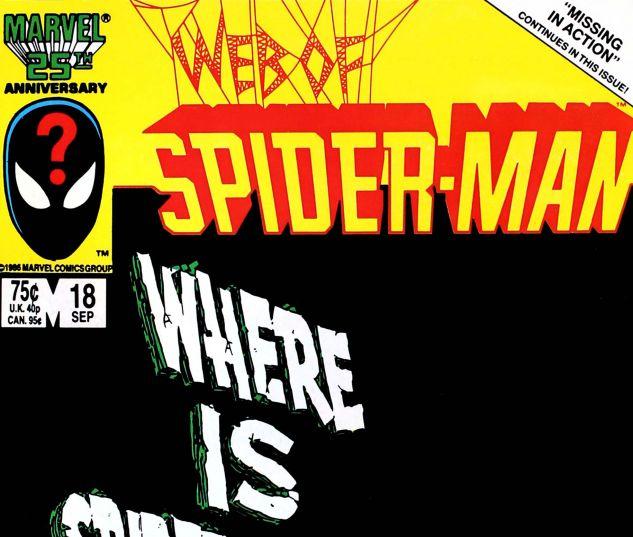 Web of Spider-Man (1985) #18