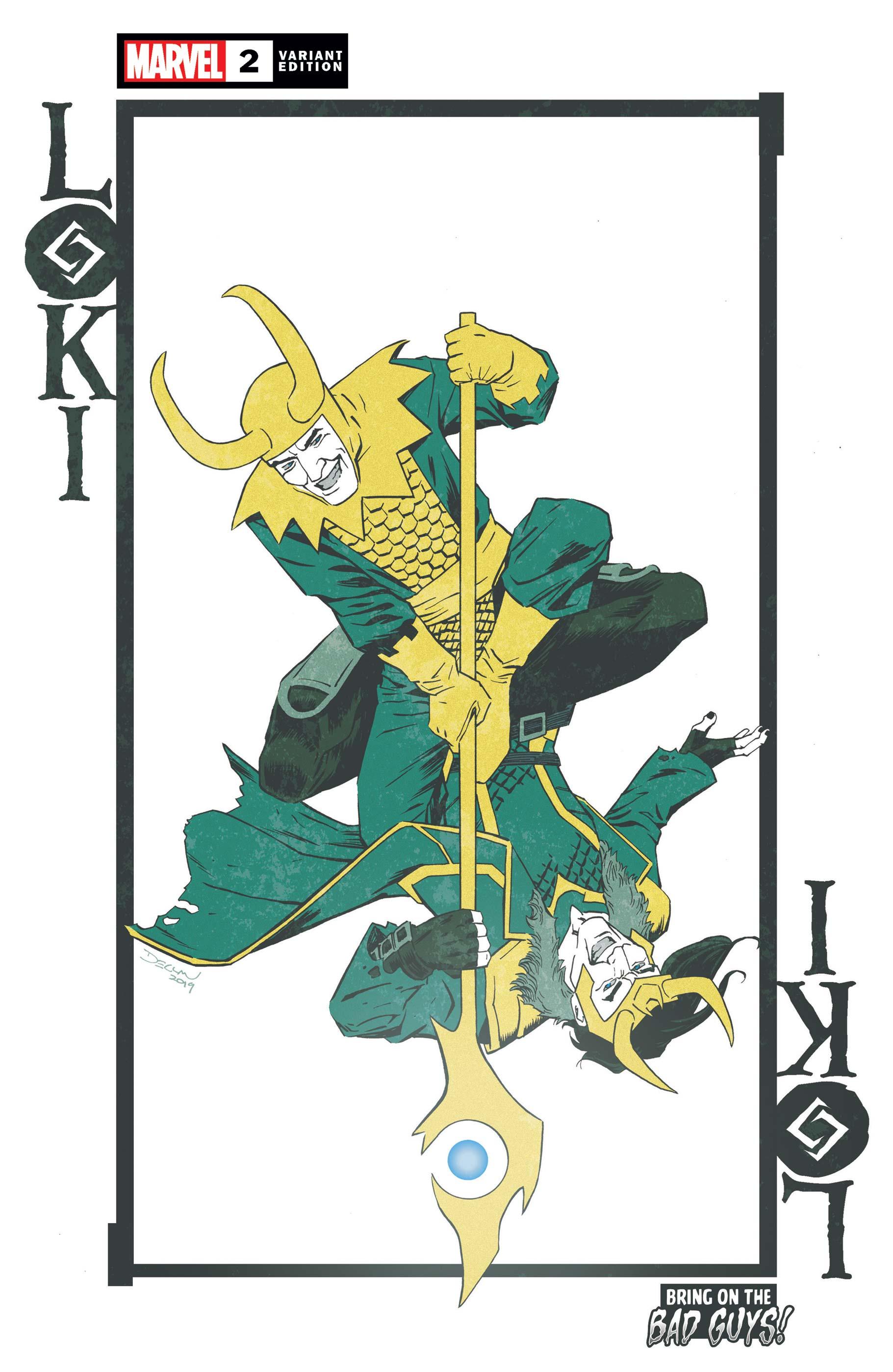 Loki (2019) #2 (Variant)