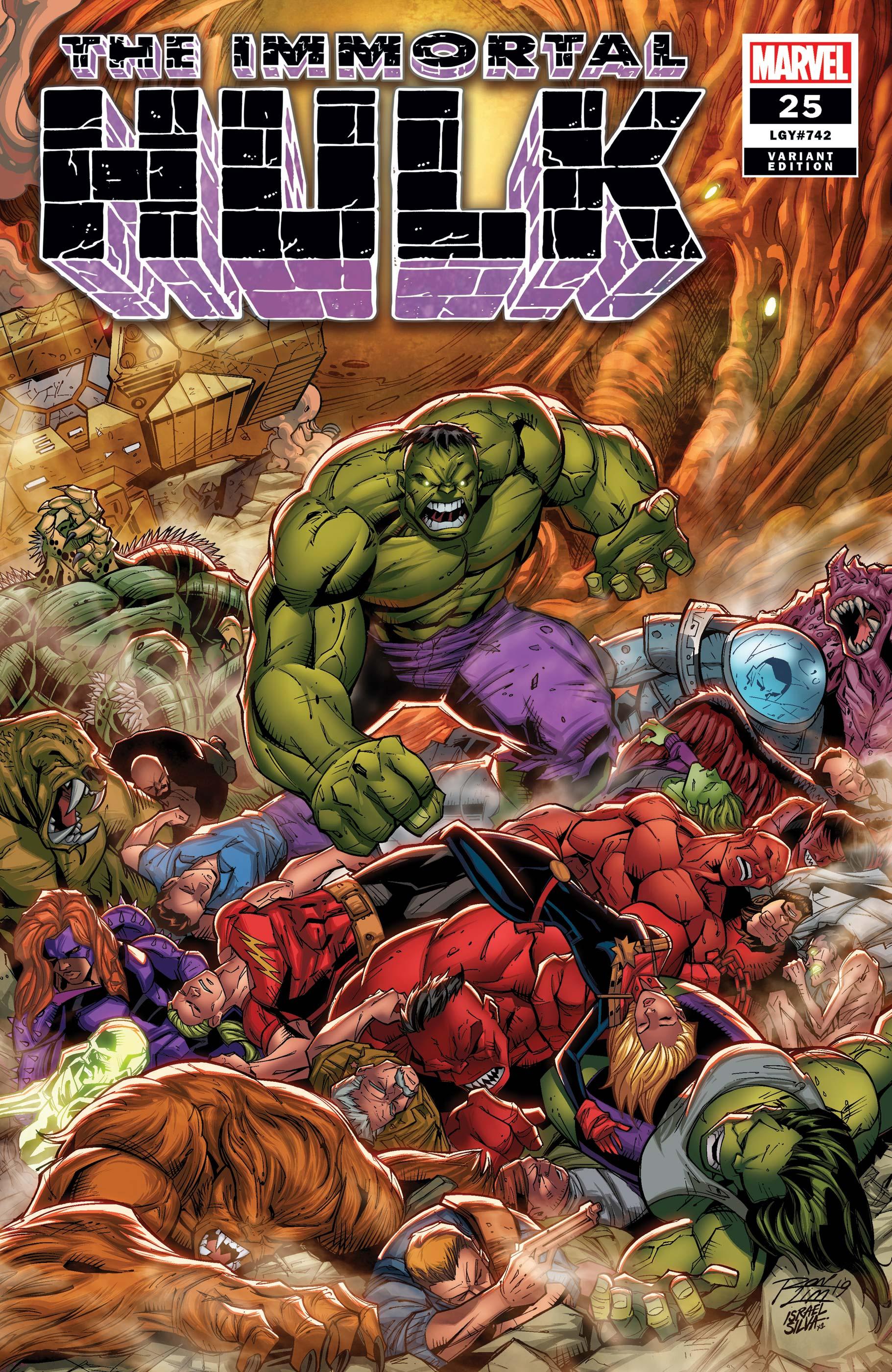 Immortal Hulk (2018) #25 (Variant)