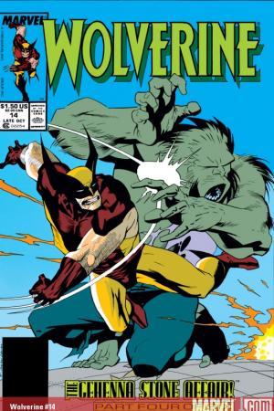 Wolverine (1988) #14