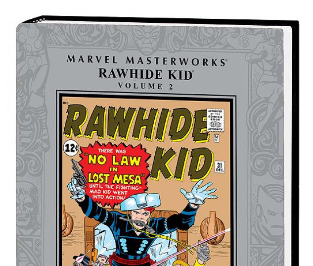 MARVEL MASTERWORKS: RAWHIDE KID VOL. 2 HC #0