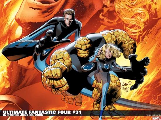 Ultimate Fantastic Four (2003) #31 Wallpaper
