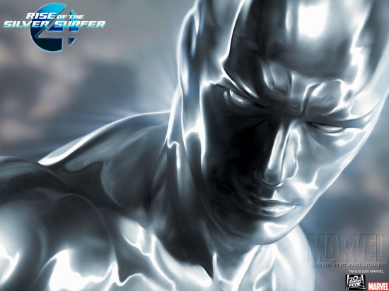 Fantastic Four: Rise of the Silver Surfer: Silver Surfer Close Up
