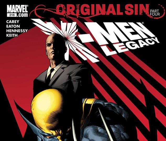X-Men Legacy (2008) #218