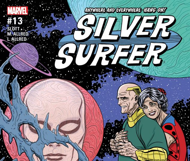 cover from Silver Surfer (2015) #13
