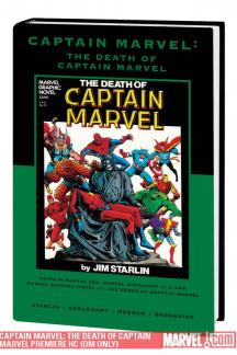 Captain Marvel: The Death of Captain Marvel (Direct Market Only Variant) (Hardcover)