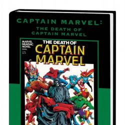Captain Marvel: The Death of Captain Marvel (Direct Market Only Variant)