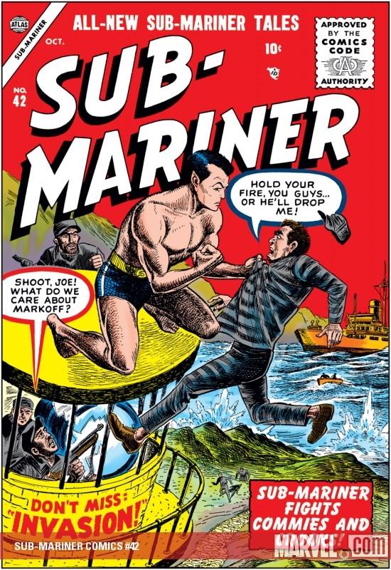 Sub-Mariner Comics (1941) #42