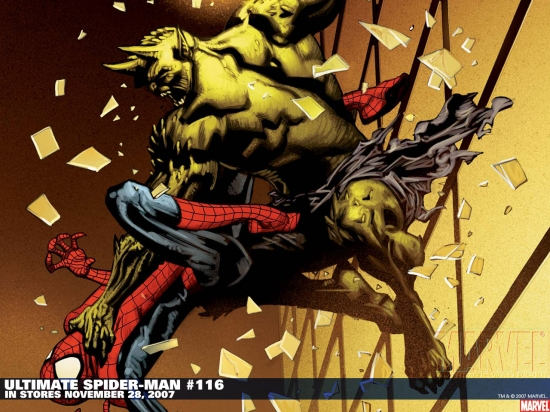 Ultimate Spider-Man (2000) #116 Wallpaper