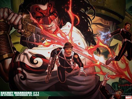 Secret Warriors (2008) #11 Wallpaper