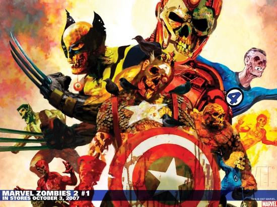 Marvel Zombies 2 (2007) #1 Wallpaper