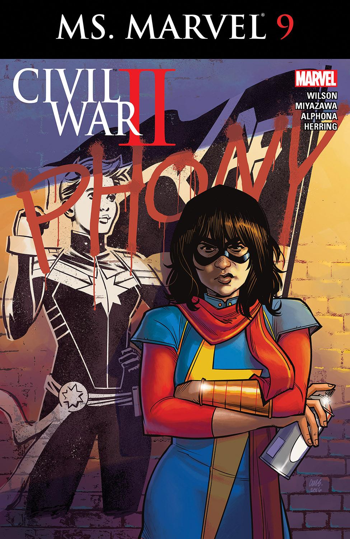 Ms. Marvel (2015) #9