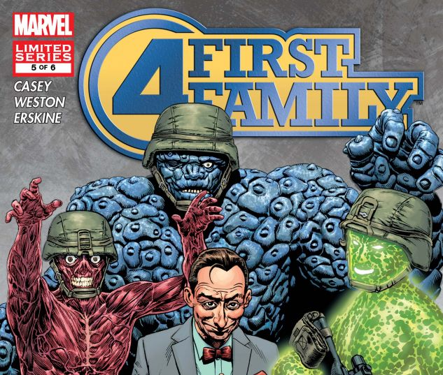 FANTASTIC FOUR: FIRST FAMILY (2006) #5