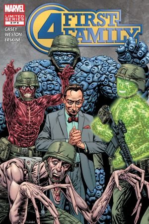 Fantastic Four: First Family #5