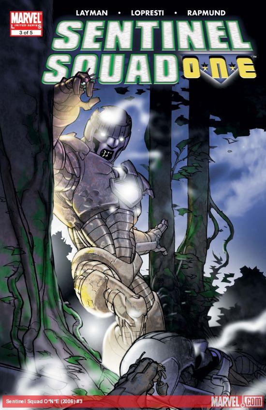 Sentinel Squad O*N*E (2006) #3