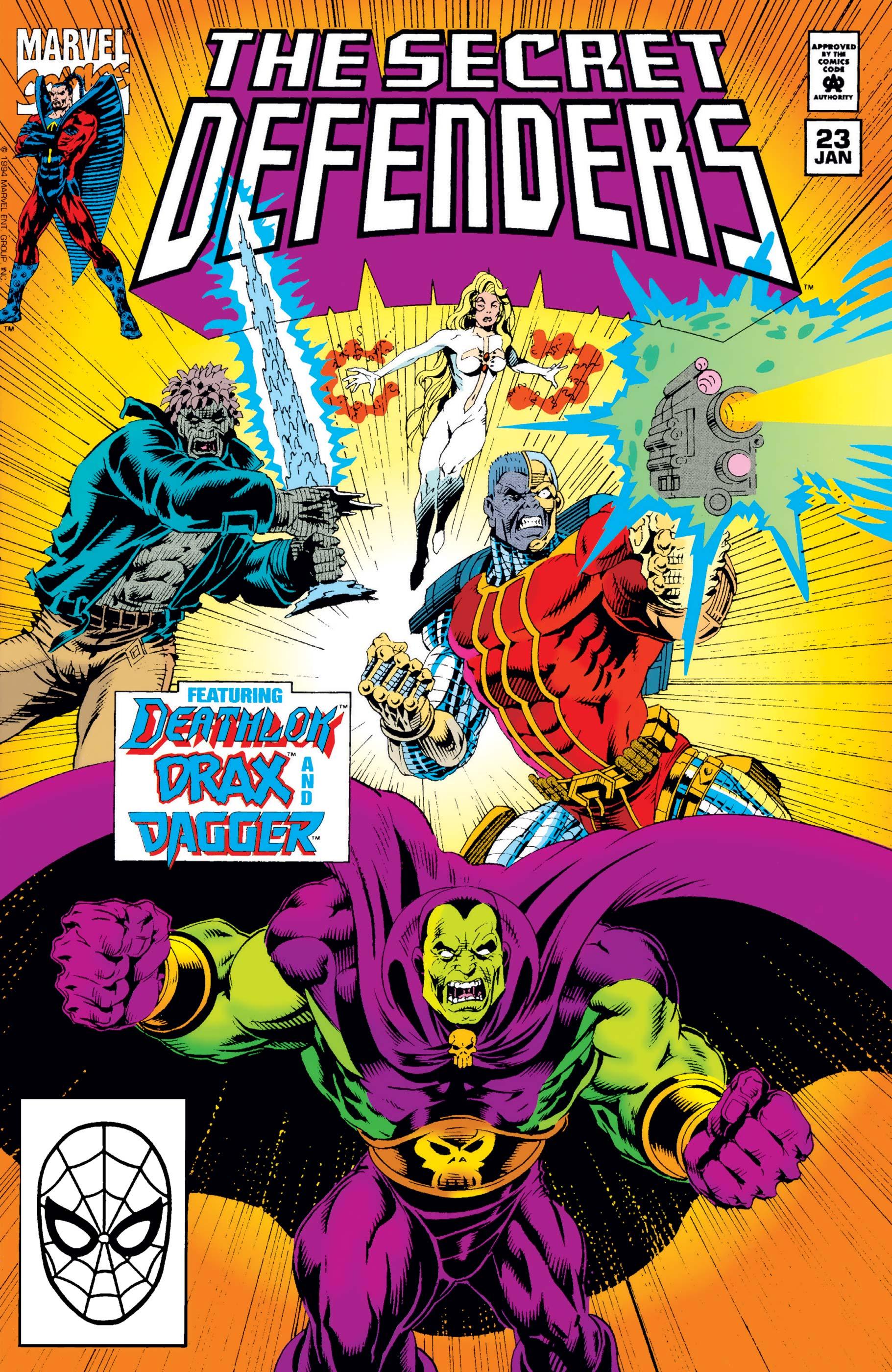 Secret Defenders (1993) #23