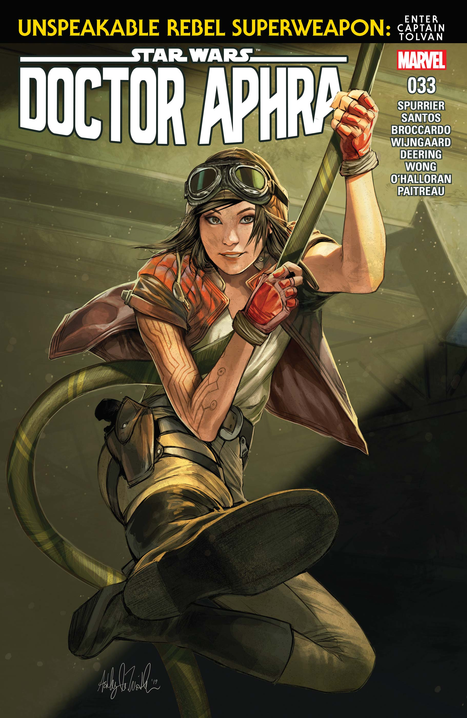 Star Wars: Doctor Aphra (2016) #33