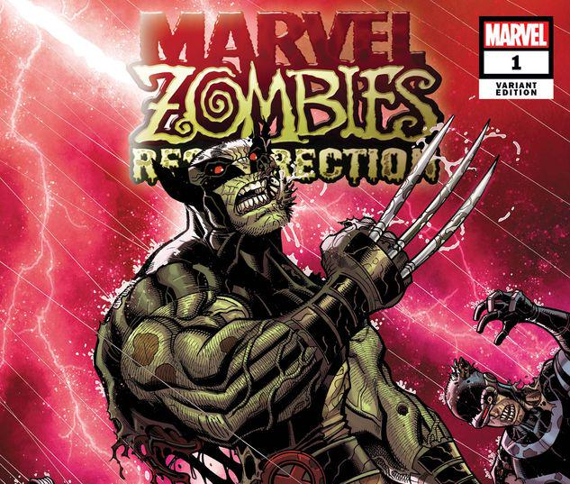MARVEL ZOMBIES: RESURRECTION 1 BRADSHAW VARIANT #1