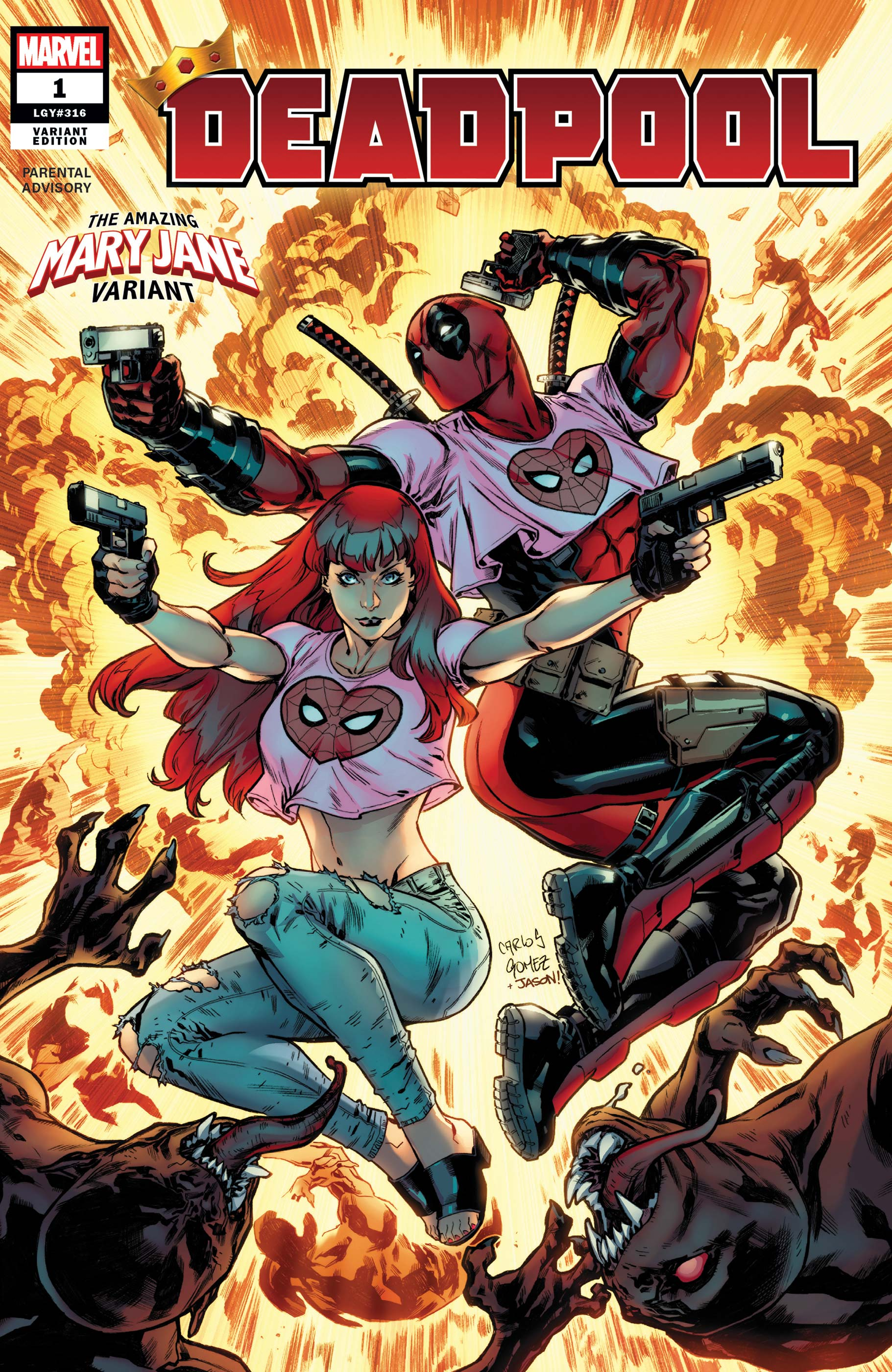 Deadpool (2019) #1 (Variant)