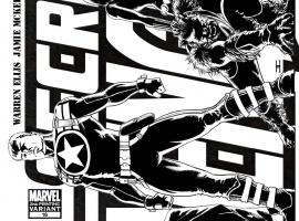 Secret Avengers #16 second printing variant cover by John Cassaday