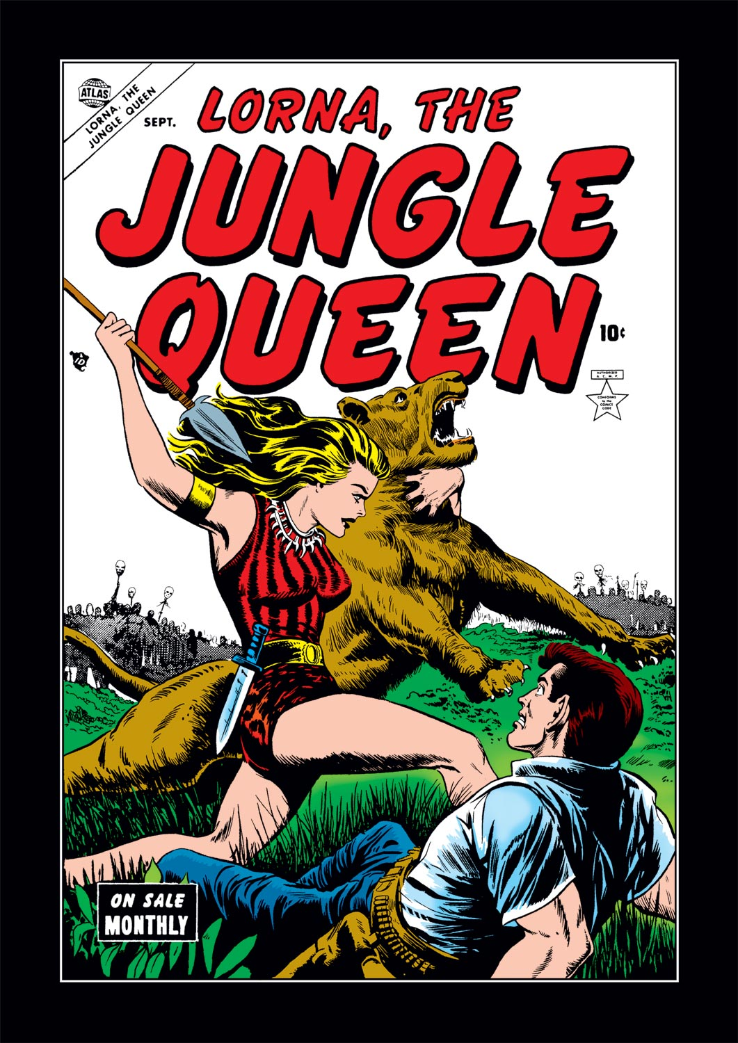 Lorna the Jungle Queen (1953) #3